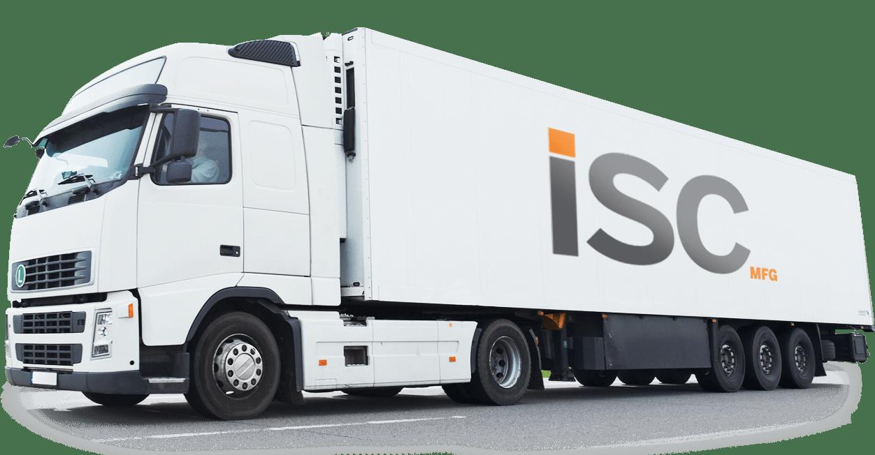 ISC White Truck